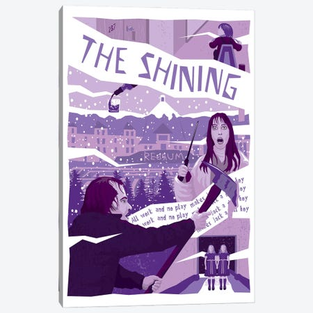 The Shining Canvas Print #CSR81} by Chris Richmond Canvas Wall Art