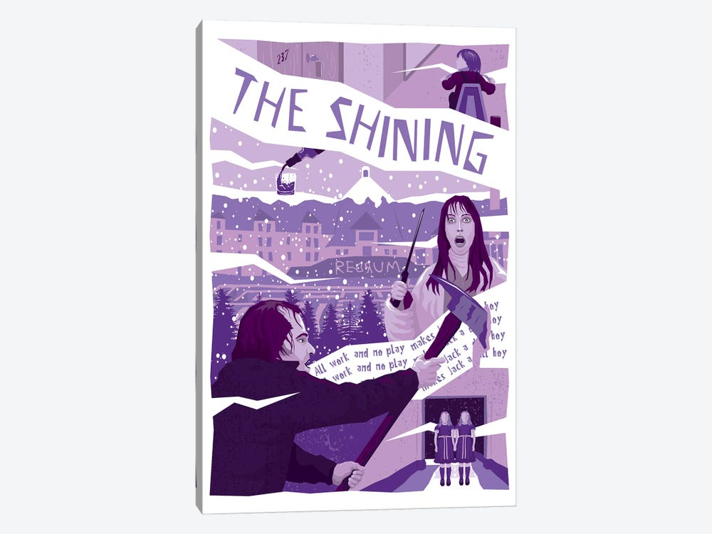 The Shining by Chris Richmond 1-piece Canvas Art