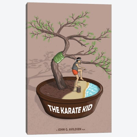 Karate Kid Canvas Print #CSR82} by Chris Richmond Canvas Artwork