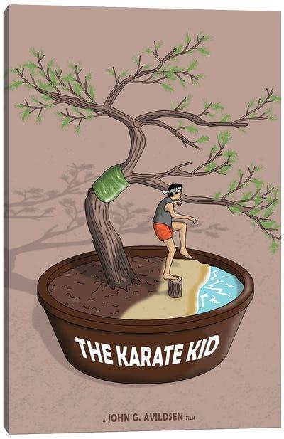 Karate Kid Canvas Art Print