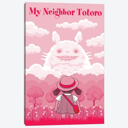 My Neighbour Totoro Canvas Print #CSR83} by Chris Richmond Canvas Art