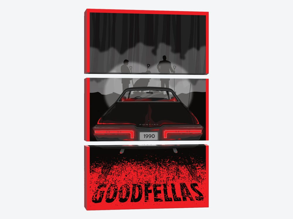 Goodfellas by Chris Richmond 3-piece Canvas Art Print