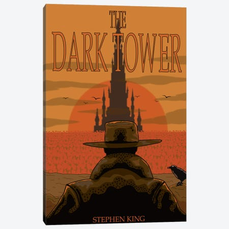 The Dark Tower Canvas Print #CSR86} by Chris Richmond Canvas Art Print