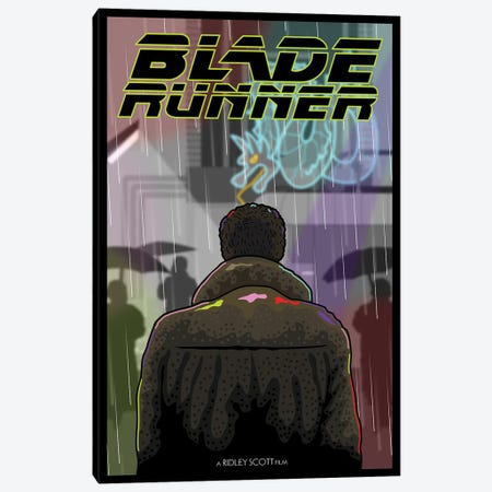 Blade Runner I Canvas Print #CSR8} by Chris Richmond Canvas Art Print