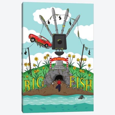 Big Fish Canvas Print #CSR91} by Chris Richmond Canvas Art Print