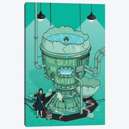 The Shape Of Water II Canvas Print #CSR96} by Chris Richmond Canvas Wall Art