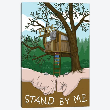 stand by me Canvas Print #CSR97} by Chris Richmond Canvas Wall Art