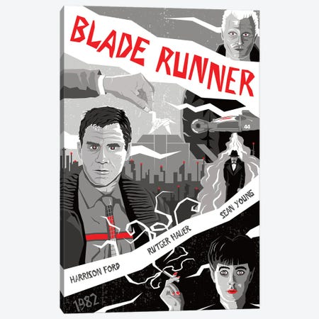 Blade Runner II Canvas Print #CSR9} by Chris Richmond Canvas Art Print