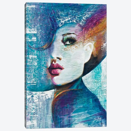 Angie  Canvas Print #CSS15} by Colin Staples Canvas Art Print