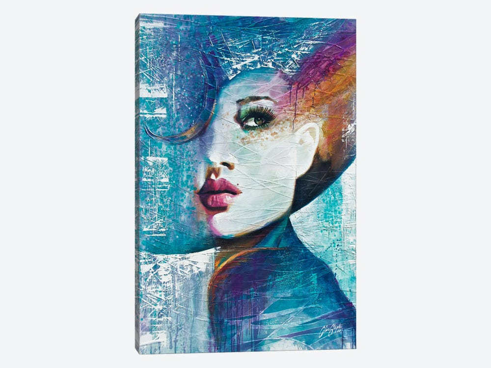 Angie  by Colin Staples 1-piece Canvas Wall Art