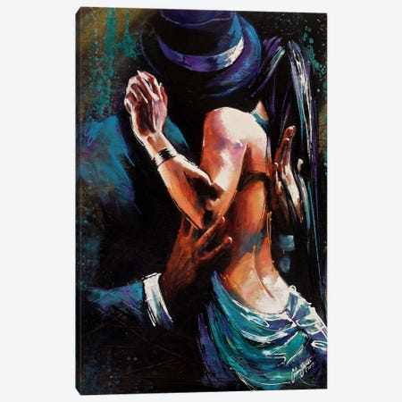 Passional  Canvas Print #CSS5} by Colin Staples Art Print