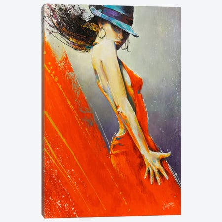 Rubi  Canvas Print #CSS7} by Colin Staples Canvas Art Print