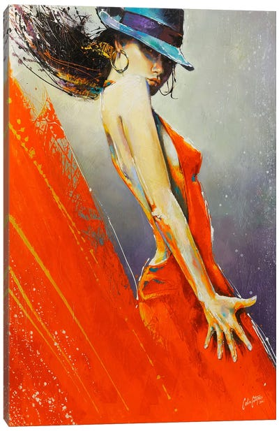 Rubi  Canvas Art Print