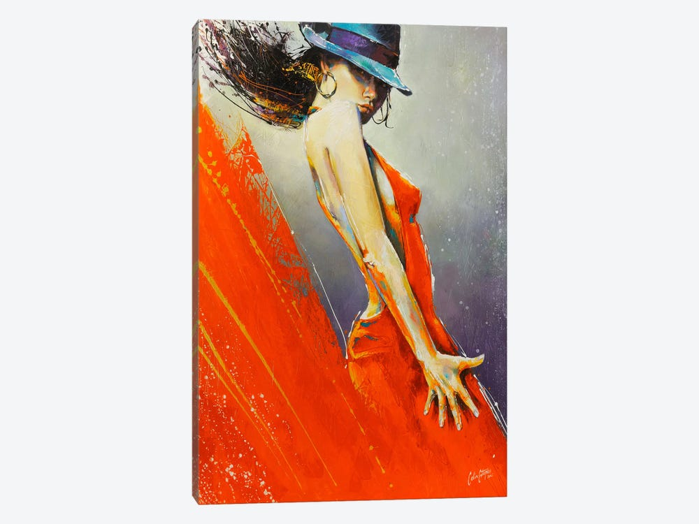 Rubi  by Colin Staples 1-piece Canvas Wall Art