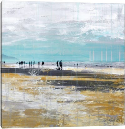 Beach III.B Canvas Art Print