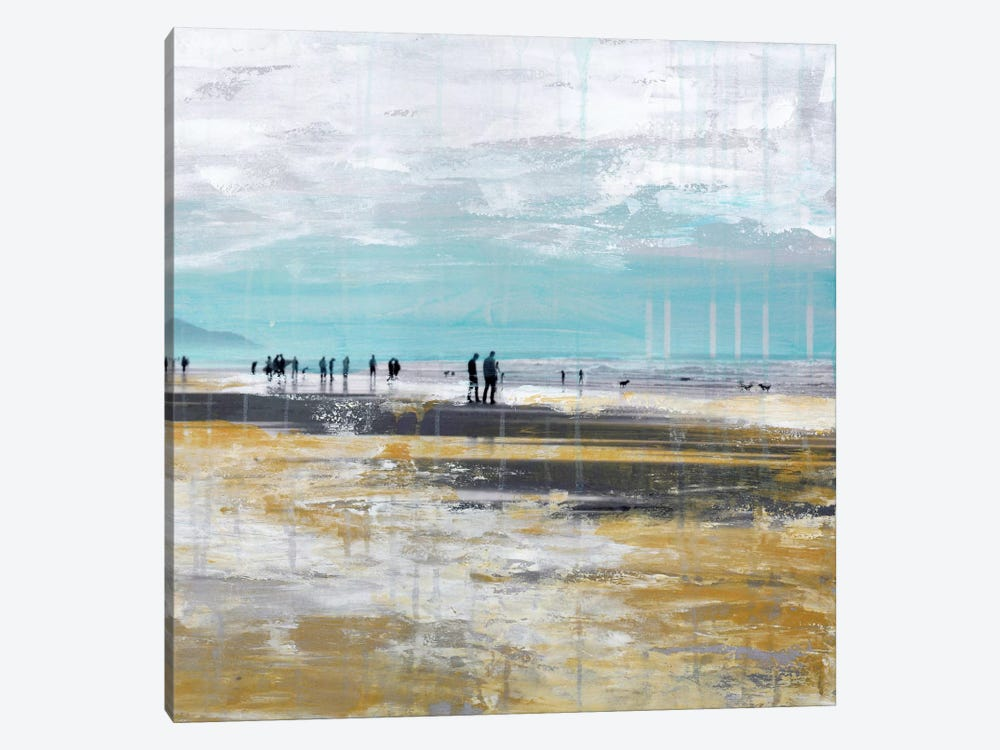 Beach III.B by Clara Summer 1-piece Canvas Print