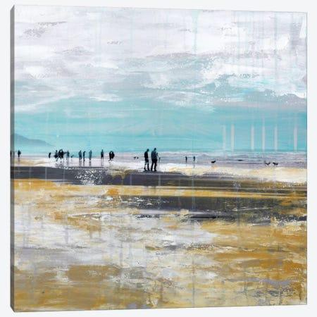 Beach III.B Canvas Print #CSU10} by Clara Summer Canvas Artwork