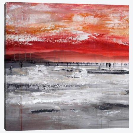 Beach IV.A Canvas Print #CSU12} by Clara Summer Canvas Artwork