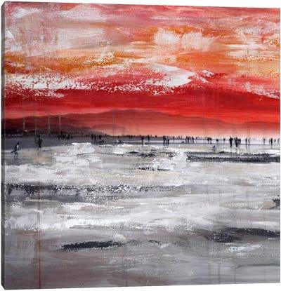 Beach IV.A Canvas Art Print