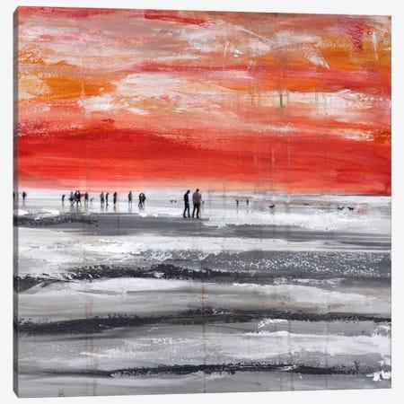 Beach IV.B Canvas Print #CSU13} by Clara Summer Canvas Art