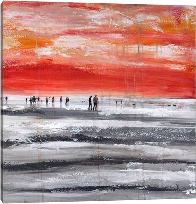Beach IV.B Canvas Art Print