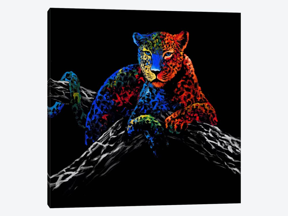 The Cheetah by Clara Summer 1-piece Canvas Artwork