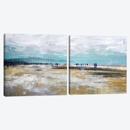 Beach III Diptych Canvas Print Set #CSU2HSET001} by Clara Summer Canvas Art Print