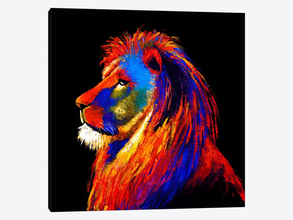 The Lion by Clara Summer 1-piece Canvas Art