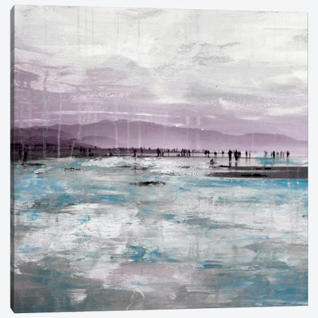 Beach I Canvas Print #CSU5} by Clara Summer Canvas Art Print