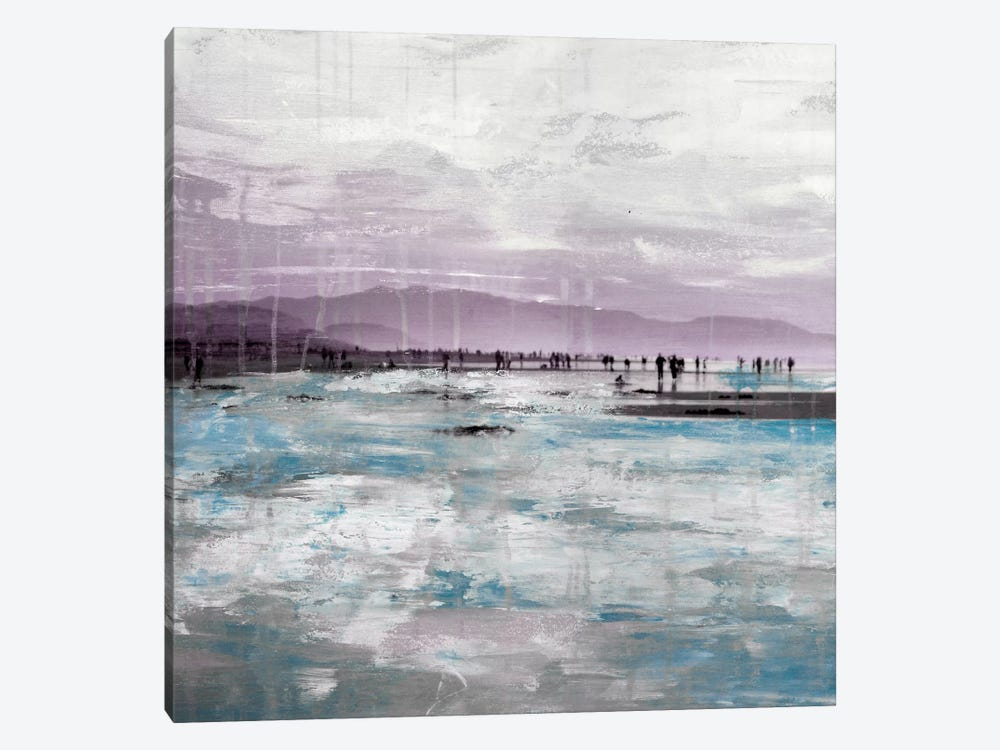 Beach I by Clara Summer 1-piece Canvas Art