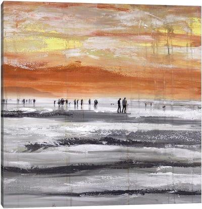 Beach II.A Canvas Art Print