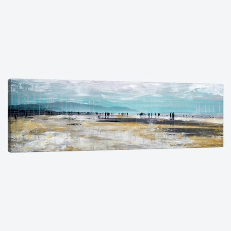 Beach III Canvas Print #CSU8} by Clara Summer Canvas Wall Art