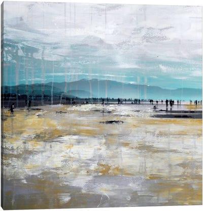 Beach III.A Canvas Art Print