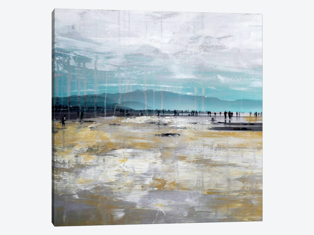 Beach III.A by Clara Summer 1-piece Canvas Art