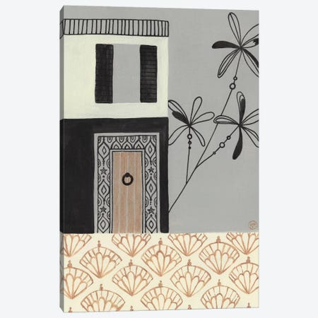 Brazilian House Canvas Print #CTA12} by CreatingTaryn Art Print