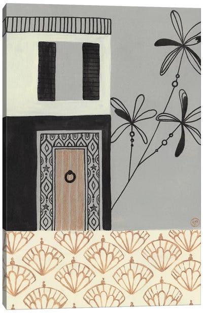 Brazilian House Canvas Art Print