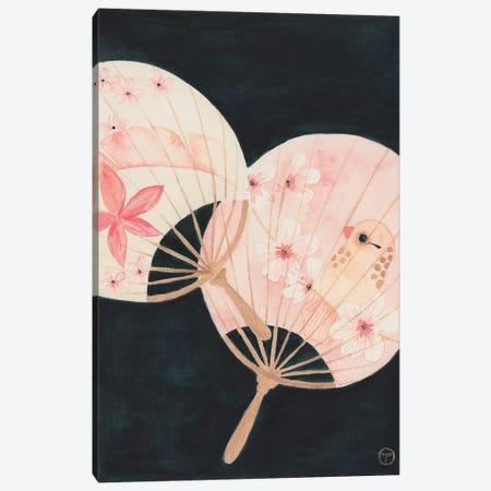 2 Paper Fans Canvas Print #CTA1} by CreatingTaryn Canvas Art