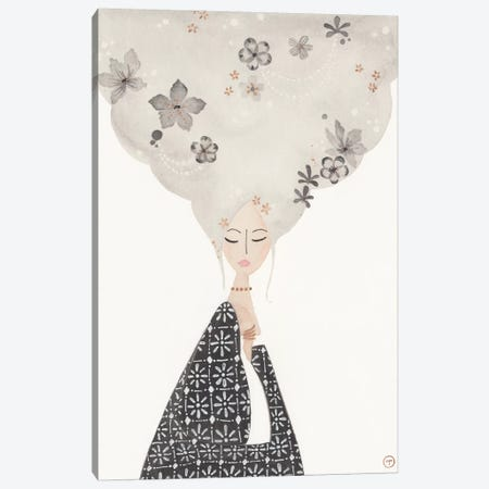 Cloud Hair Canvas Print #CTA21} by CreatingTaryn Canvas Wall Art