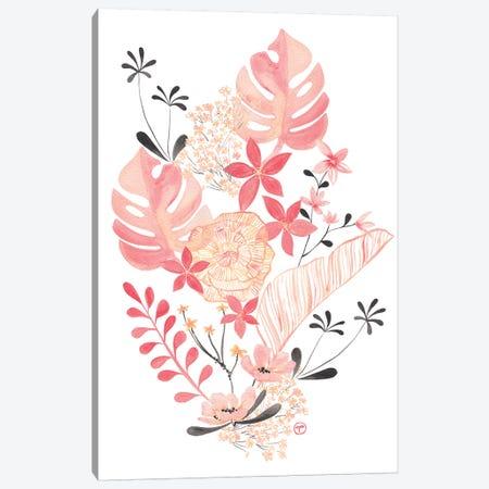 Floral Arrangement Canvas Print #CTA25} by CreatingTaryn Art Print