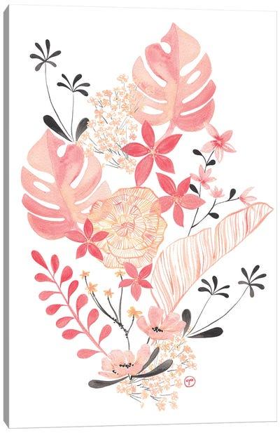 Floral Arrangement Canvas Art Print