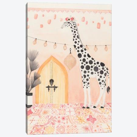 Giraffe In Morocco Canvas Print #CTA27} by CreatingTaryn Canvas Print