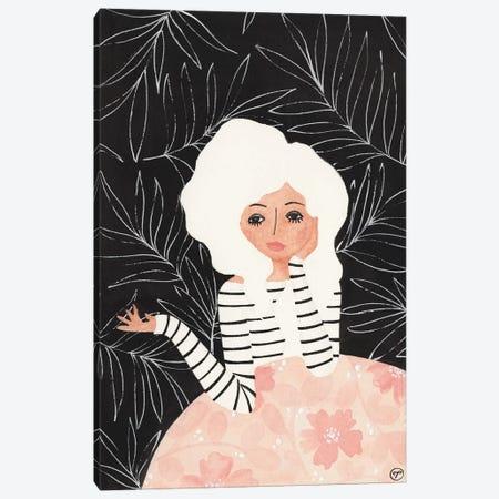 Girl At Table Canvas Print #CTA28} by CreatingTaryn Canvas Artwork