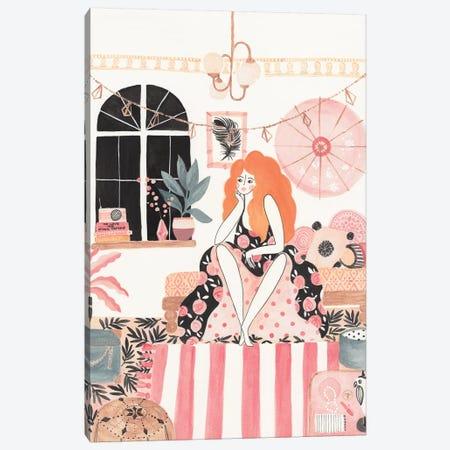 Girl In Bedroom Canvas Print #CTA29} by CreatingTaryn Canvas Art