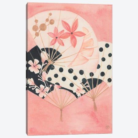 3 Paper Fans Canvas Print #CTA2} by CreatingTaryn Canvas Wall Art