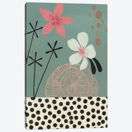 Green Tropics Canvas Print #CTA35} by CreatingTaryn Canvas Wall Art