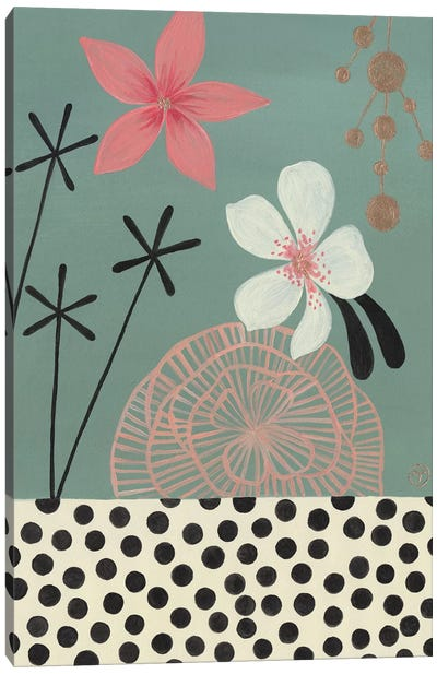 Green Tropics Canvas Art Print
