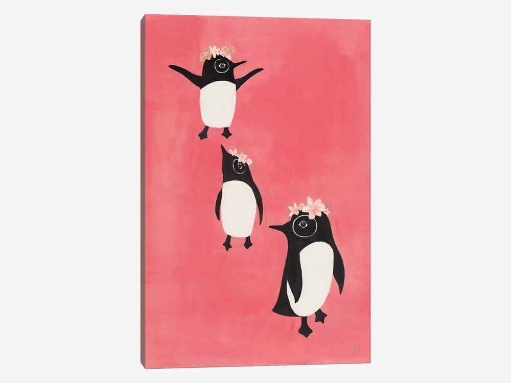 3 Penguins by CreatingTaryn 1-piece Canvas Print