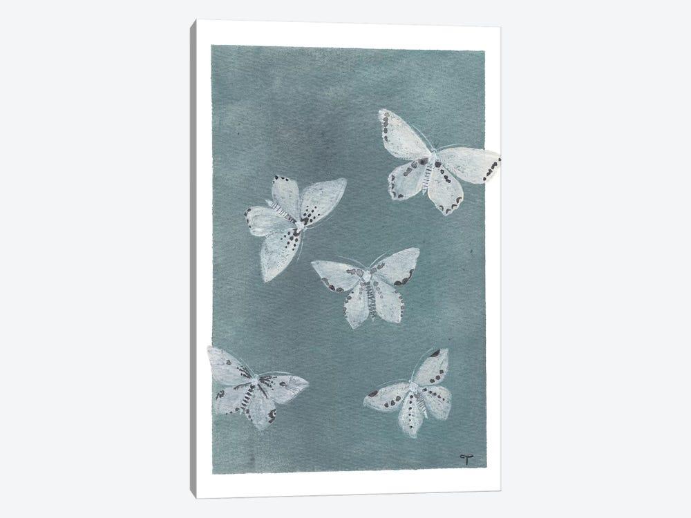 Midnight Butterflies by CreatingTaryn 1-piece Art Print
