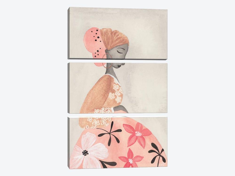 Motherhood Floral Skirt by CreatingTaryn 3-piece Art Print