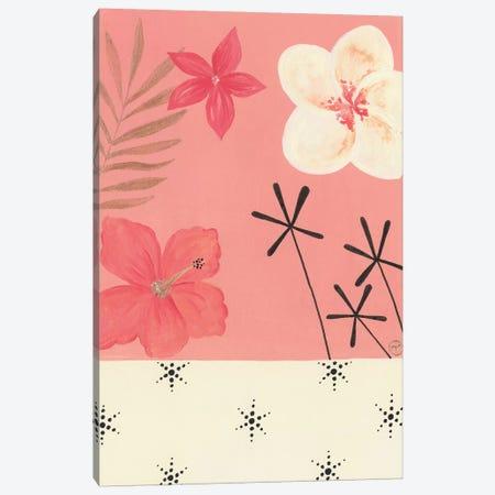 Pink Tropics Canvas Print #CTA57} by CreatingTaryn Canvas Art